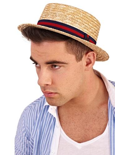 Sombrero de navegante para hombre