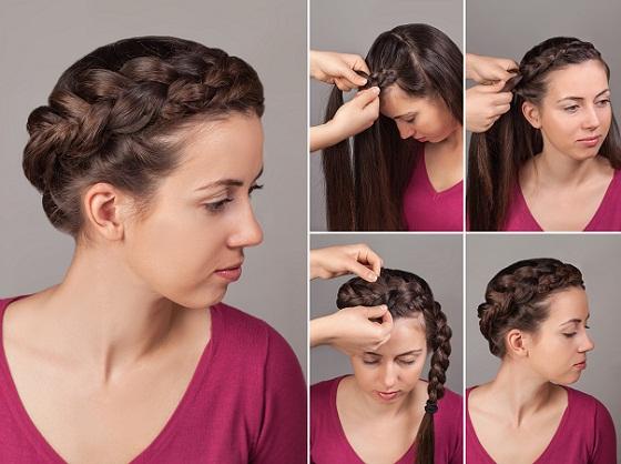 Weaving Braid Hairstyle