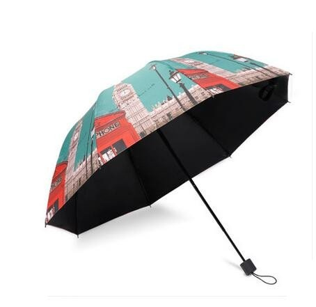 British Style Women's Folding Umbrellas