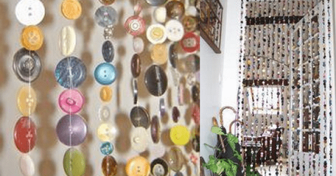Button Curtain Designs