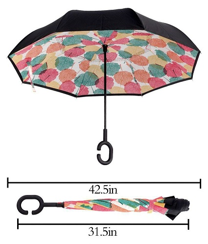 C –Shaped handle Type Umbrellas