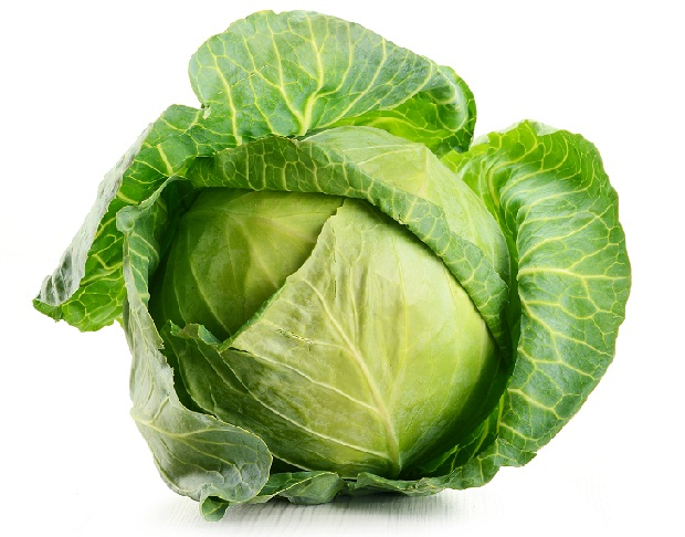 Cabbage Leaves for Removing of Tan