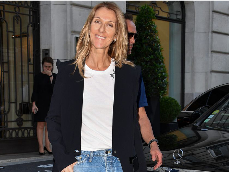 Celine Dion Without Makeup