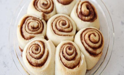 Cinnamon roll receipe