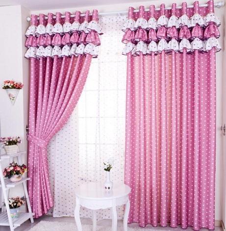Circular Print Curtain Design
