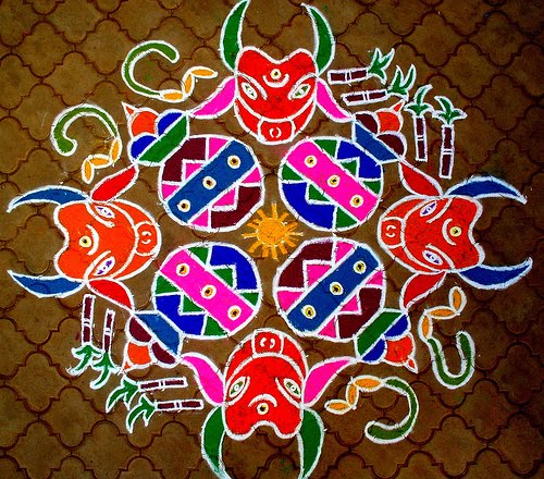 Colorful Diwali Rangoli Designs