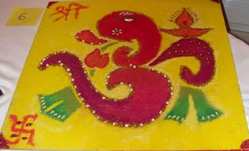 Colourful Rangoli Designs
