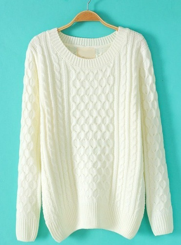 Cotton Long Sweater