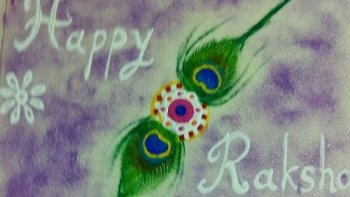 Creative Raksha bandhan Rangoli