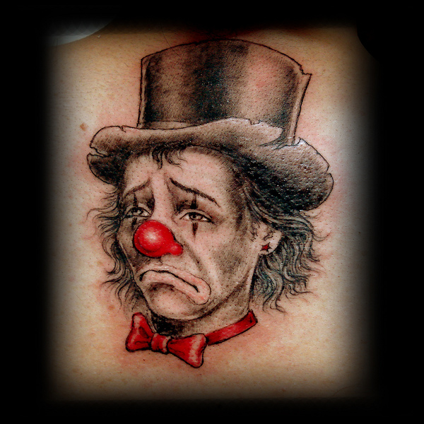 Creepy Clown Tattoo Designs