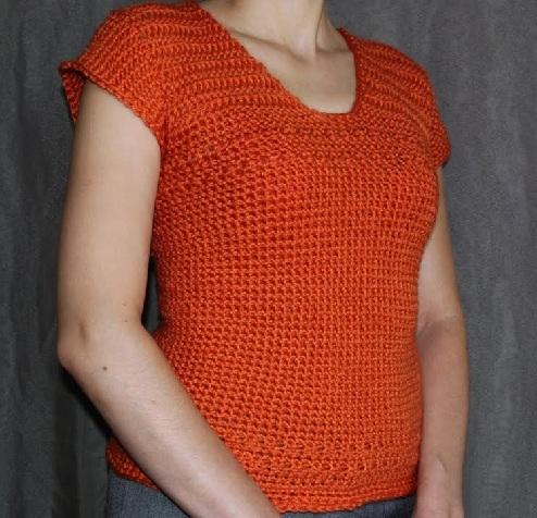 Crochet Women's Sweater