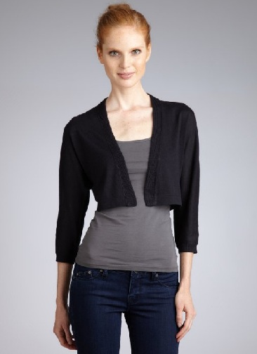 Cropped Cardigan Sweater for Women