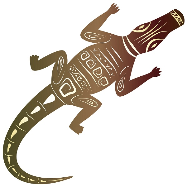 Curious Alligator Tattoo Designs