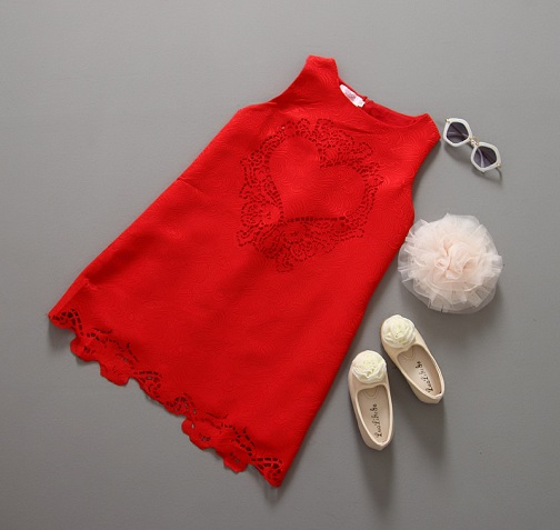 Cut Work Dress