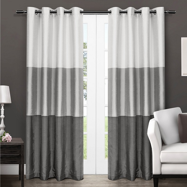Cute and Charming White Curtains