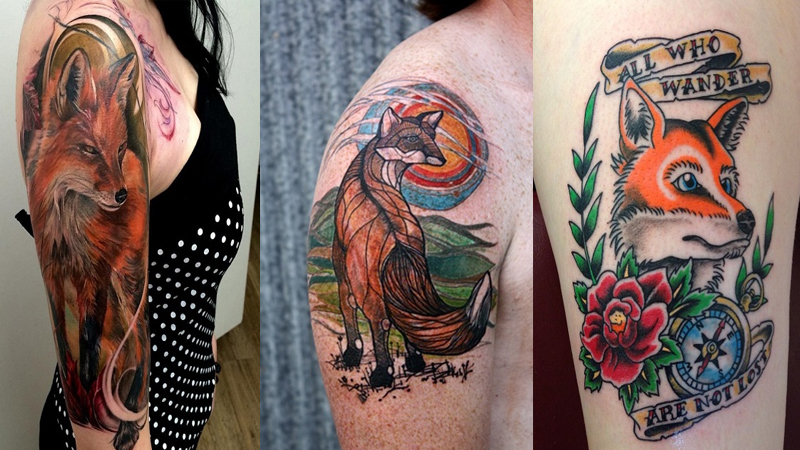 Cute and Simple Fox Tattoo Designs for Men and Women
