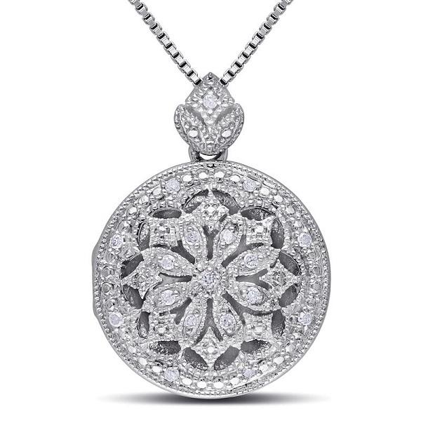 diamond lockets designs