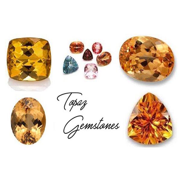 Different Colors of Topaz Gemstones