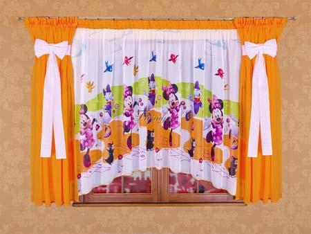 Disney Land Curtain Design