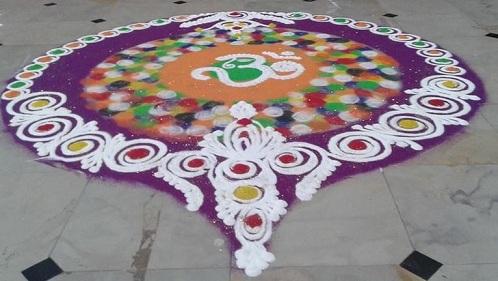 Diwali Om Designs