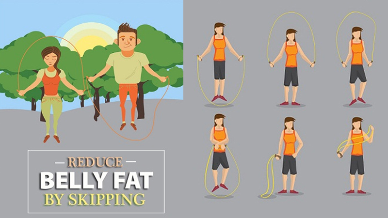 Does Skipping To Reduce Belly Fat