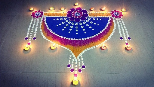 Door Kolam Designs