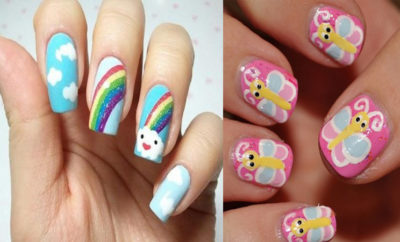 nail art designs for kids  top 9 for your child  styles