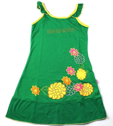 Embroidered Baby Frock