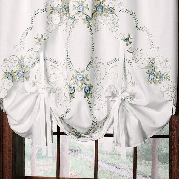 Embroidered Curtains With Images
