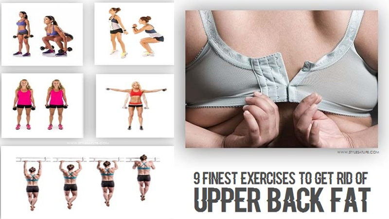 Exercises to Get Rid of Upper Back Fat