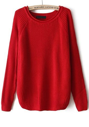 Fleece Long Sweater