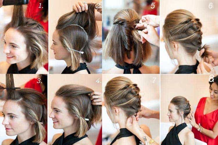 French Twist Hairstyles 3