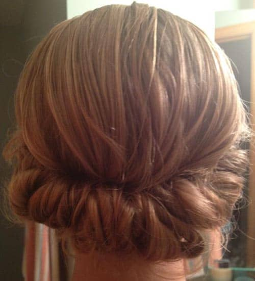 Exceptional Rounded French Twists