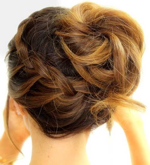 French Twist Hairstyles 13