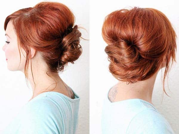French Twist Hairstyles 25