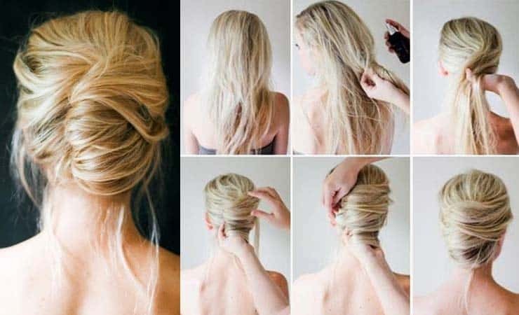 French Twist Hairstyles 1