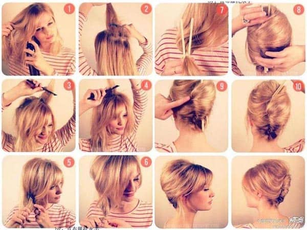 French Twist Hairstyles 2