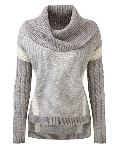 Funky Cowl Neck Sweater