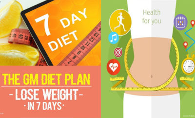 GM Diet Chart And Plans