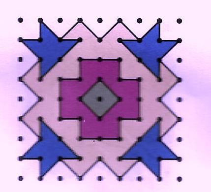 Geometric Rangoli