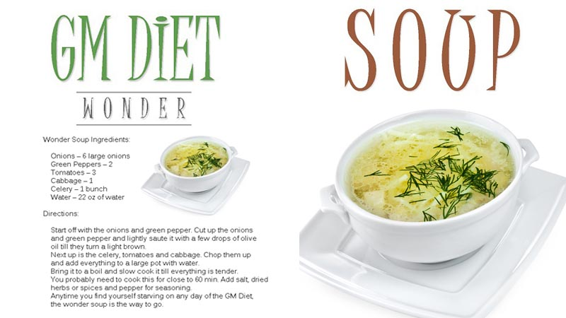 gm diet wonder soup