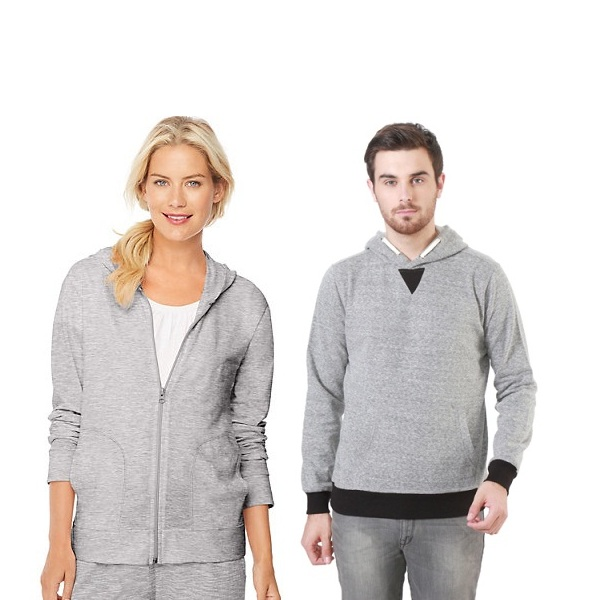Grey Sweatshirts with Different Necks