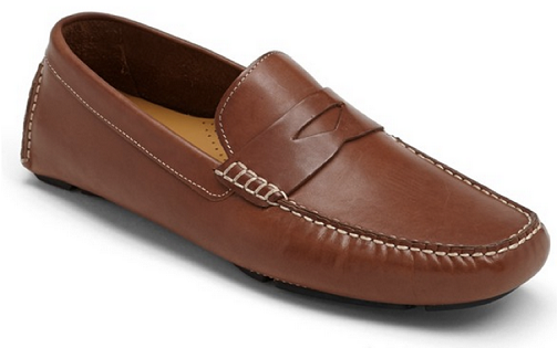 Guava Tan Loafers