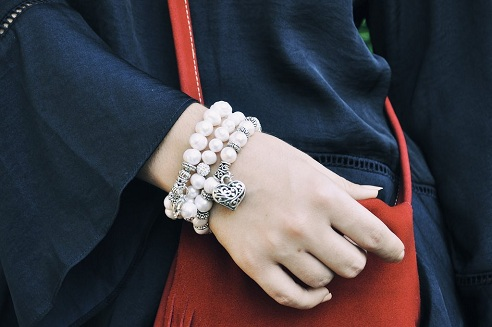 Handmade Natural Pearls Bracelets