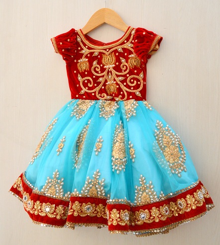 25ee263c336b 50 New And Unique Baby Frock Designs With Images For 2018