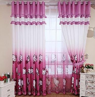 Hello Kitty Curtain Pattern