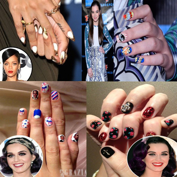Hollywood Celebrity Nail Art