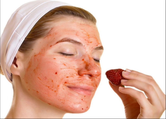 Strawberry Face Packs