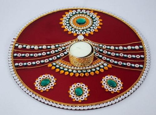 Homemade Acrylic Rangoli