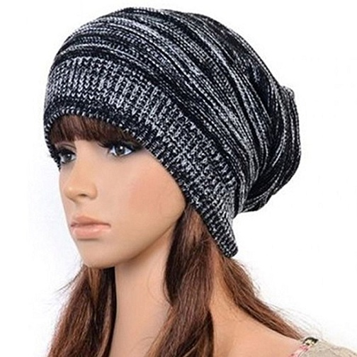 Hot Feel Slouchy Skull Beanie Hats